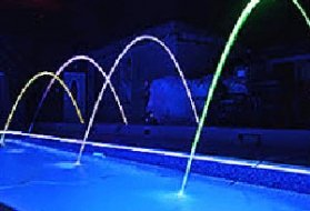 Swimming Pool with Deck Jets and Lighting